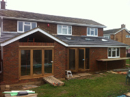 Building house extension in Holmer Green 1